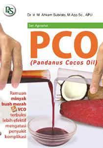 PCO(Pandanus Cocos Oil)