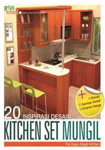 Buku 20 Inspirasi Desain Kitchen Set Mungil Griya Kreasi