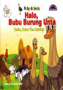 Halo, Bubu Burung Onta (Hello, Bubu The Ostrich) – Dwi Bahasa