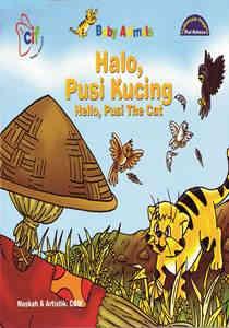 Halo, Pusi Kucing (Hello, Pusi The Cat) – Dwi Bahasa