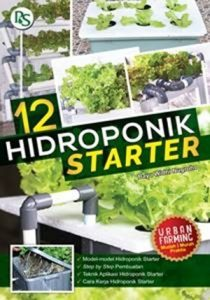 Buku 12 Hidroponik Starter – Penerbit Penebar Swadaya