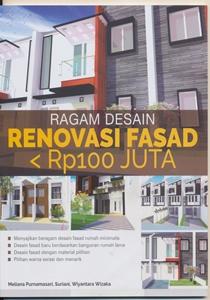 Buku Ragam Desain renovasi Fasad Kurang Rp 100 Juta